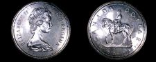 Buy 1973 Canadian Silver Dollar World Coin - Canada - Mountie