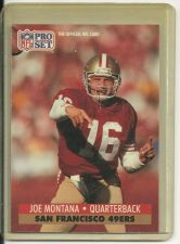 Buy Joe Montana - NFL Pro Set 1991 Card #653