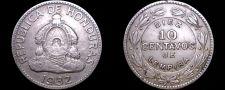 Buy 1932 Honduras 10 Centavo World Coin