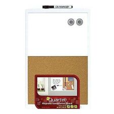 Buy Dry Erase Combination Board Magnetic 11x17 Inches White Frame Whiteboard Marker