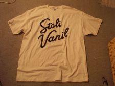 Buy Stoli Vanil Beer Shirt - Size Adult XL