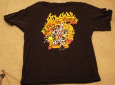 Buy Queen Play The Game Black T-Shirt Size XL