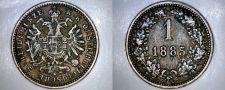 Buy 1885 Austrian 1 Kreuzer World Coin - Austria