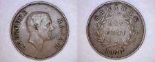 Buy 1927 Sarawak 1 Cent World Coin