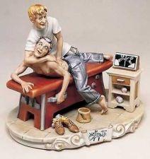 Buy CAPODIMONTE Chiropractor by Enzo Arzenton Laurenz Classic Sculpture COA Italy