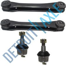 Buy 4 PC Set: 2 NEW Front Lower Control Arms + 2 NEW Lower Ball Joints