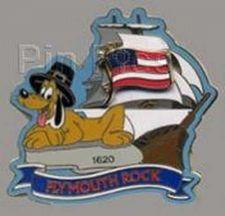Buy Disney Pluto Slider Plymouth Rock Mickey's Star Spangled Pin Event pin/pins