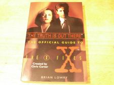 Buy X-files - The Truth is Out There Book HarperPrism 1995 -Official Guide to Xfiles
