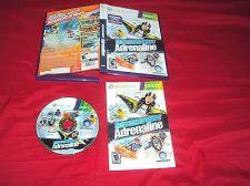 Buy MOTIONSPORTS ADRENALINE Xbox 360 DISC MANUAL ART & CASE NRMNT SHIP SAME DAY /NXT