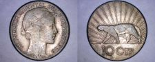 Buy 1936-A Uruguay 10 Centesimo World Coin