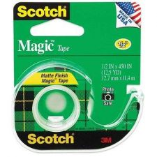 Buy Scotch Tape Magic Sealing Offices Crafts Gift-Wrapping Mounting 1/2 x 450 Inches