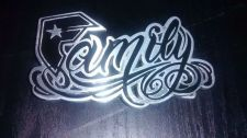 Buy Famous Family F Straps & Stars Metal Belt Buckle