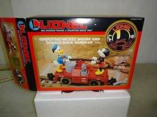 Buy Disney LIONEL train # 87207 MICKEY MOUSE AND DONALD DUCK HAND CAR / UNRUN NIB