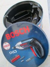 "Buy BOSCH IXO Empty Metal Box & Lid For Tool case,Storage Fix Part,7"" dia 3.5"" high"