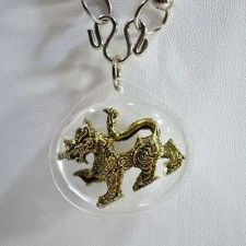 Buy SINGHA POWERFUL WEALTH MONEY AND CHARMING LUCKY THAI NECKLACE AMULET