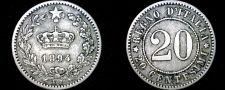 Buy 1894-KB Italian 20 Centesimi World Coin - Italy