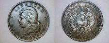 Buy 1891 Argentina 2 Centavo World Coin