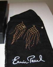 Buy NIB Erwin Pearl Gold Tone Chandelier Dangle Earrings New Box Jewel Pouch Pierced
