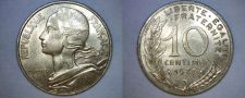 Buy 1980 French 10 Centimes World Coin - France