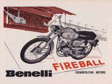 Buy BENELLI WARDS RIVERSIDE 450-SS OPERATIONS & PARTS MOTORCYCLE MANUALs FFA-14003