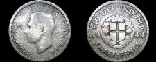 Buy 1944 Great Britain 3 Pence World Silver Coin - UK