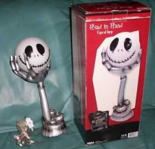 Buy Nightmare Before Christmas -Tim Burton Disney - Jack head in hand - Lamp