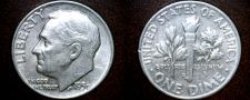 Buy 1956-D Roosevelt Dime Silver