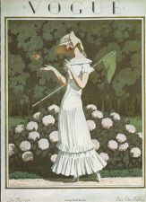 Buy Vogue 1924 Cover Print Butterfly Net by Brissaud Art Deco 1984 original print