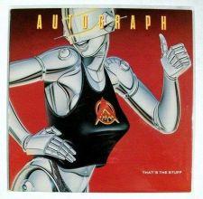 Buy AUTOGRAPH That's The Stuff 1985 Metal LP