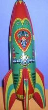 Buy Rocket Ship Mars Patrol-2 Friction Powered Tin toy