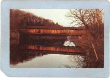 Buy New York Rifton Covered Bridge Postcard Perrine's Bridge Over Wallkill Riv~494