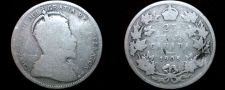 Buy 1905 Canadian Quarter 25 Cents Canada Silver Coin