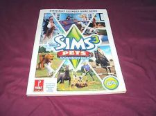 Buy The Sims 3 Pets PC & MAC PRIMA OFFICIAL GAME GUIDE VERY GOOD CONDITION