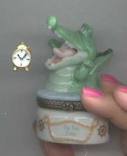 Buy Disney Peter Pan Tic Toc Croc Porcelain Cute PHB Original Box Mint