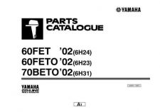 Buy Yamaha A6H3700E Outboard Motor Parts & Views by download Mauritron #344055