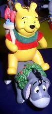 Buy Disney Eeyore and Winnie The Pooh Ornament Figurine MINT