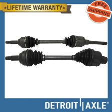 Buy Pair of 2 Front Driver and Passenger CV Axle Drive Shaft Non-ABS A/T - USA Made