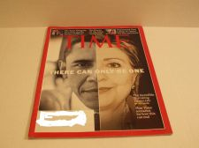 Buy Time Magazine Obama/Hillary Cover May 5, 2008