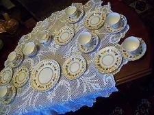 Buy english bone china tea set coolough pattern 21 pieces