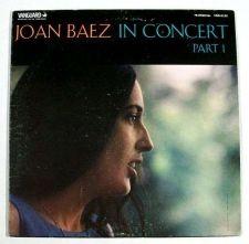 "Buy JOAN BAEZ ~ "" Joan Baez In Concert / Part 1 "" 1962 Folk/Pop LP"