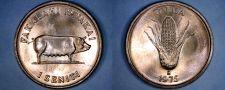 Buy 1975 Tonga 1 Seniti World Coin - Corn and Pig