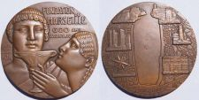 Buy Very Large French Medal - Foundation of Marseille by Greeks