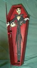 Buy Nightmare Before Christmas Jack red Coffin Doll 2 face