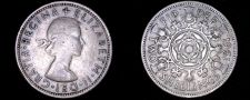 Buy 1961 Great Britain 1 Florin World Coin - UK England