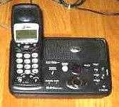 Buy AT&T E5643B handset & main base w/PSU - cordless ATT tele phone charger charging