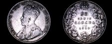 Buy 1918 Canada 50 Cent World Silver Coin - Canada