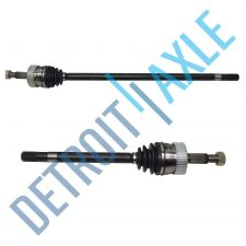 Buy New Complete FRONT Driver and Passenger CV Axleshaft 4WD 4X4 USA Made