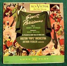 "Buy Arthur Fiedler / Boston Pops ~ Offenbach "" GAITE PARISIENNE "" Classical LP"