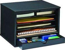 Buy 4-Shelf Office Desktop Organizer Wood Collection Files Storage Holder Document