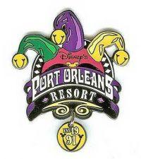 Buy Orleans Dangle Resort WDW authentic Disney pin/pinsPort